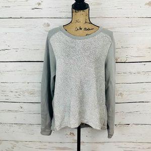 { Banana Republic } Dressy Shimmer Sweatshirt